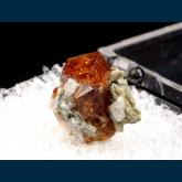 Grossular (var. Hessonite) garnet